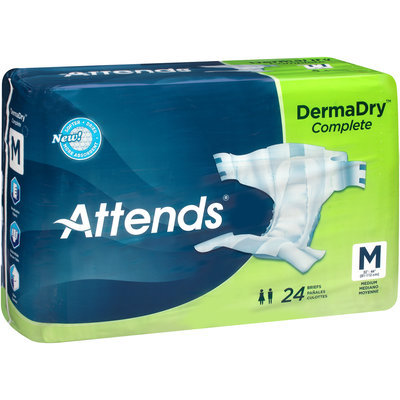 DDC20 Attends® DermaDry™ Complete Medium Briefs, 24 count