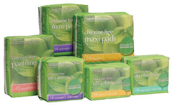 Seventh Generation Feminine Pads Household Products