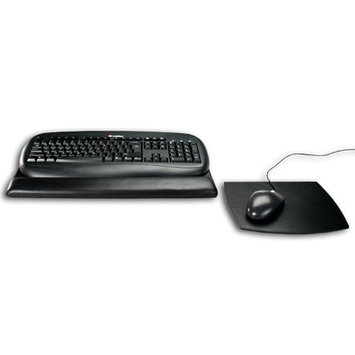 Dacasso a1044 Leather Mouse - Keyboard Pad - Black
