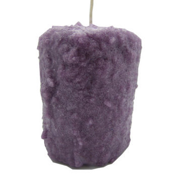Starhollowcandleco Lilac Blossoms Pillar Candle Size: Round Cake Fatty 4