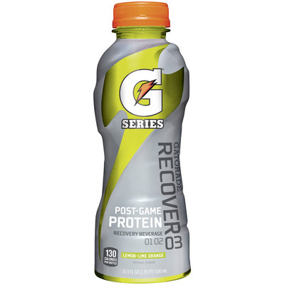 GATORADE G Series Recover Lemon-Lime Orange Energy Drink 16.9 OZ PLASTIC BOTTLE