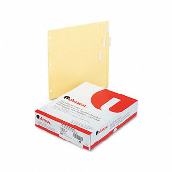 Universal Office Products Index Tabs and Dividers Universal Economy