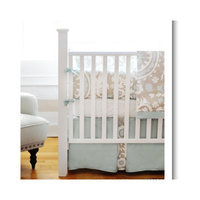 New Arrivals Picket Fence 4 Piece Crib Bedding Set