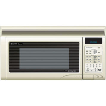 Sharp 850W Over the Range Convection Microwave Oven in Bisque