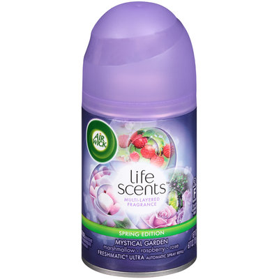 Air Wick® Freshmatic® Ultra Life Scents™ Mystical Garden Automatic Spray Refill 6.17 oz. Aersol Can