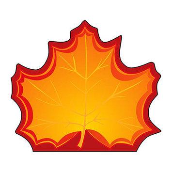 Shapes SE-120 Notepad Large Maple Leaf