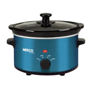 Metal Ware SC-150B Oval Slow Cooker, 1.5-Quart, Blue