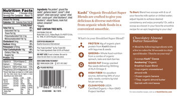 Kashi™ Cocoa Awakening™ Organic Breakfast Super Blend Smoothie Mix