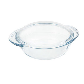 Lancaster Colony GD16456719 Medium Round Casserole with Lid, 2.4 qt, Sleeved, pk 6 st