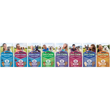 Purina Dog Chow Complete Adult Dog Food Family Group Shot