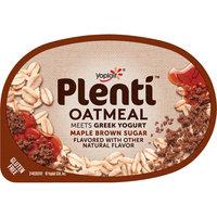 Yoplait® Plenti™ Maple Brown Sugar Oatmeal with Greek Yogurt 5.5 oz. Cup