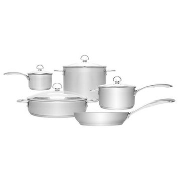 Chantal Induction 21 Cookware Set, 9 Pieces
