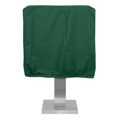 KoverRoos 63051 Weathermax Pedestal Barbecue Cover Forest Green - 19.5 D x 28 W x 19 H in.