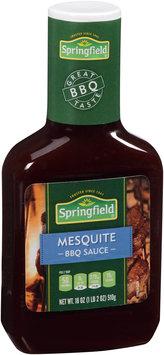 Springfield® Mesquite Barbeque Sauce 18 oz. Bottle