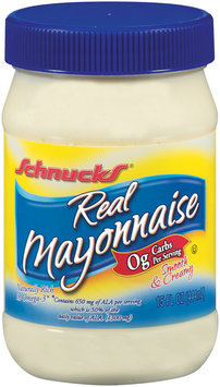 Schnucks Real Mayonnaise 15 Fl Oz Plastic Jar