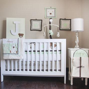 Pam Grace Creations BDBEAR Baby Bedding 10 Piece Baby Bear