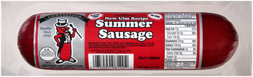 Ambassador® New Ulm Recipe Summer Sausage 12 oz. Roll