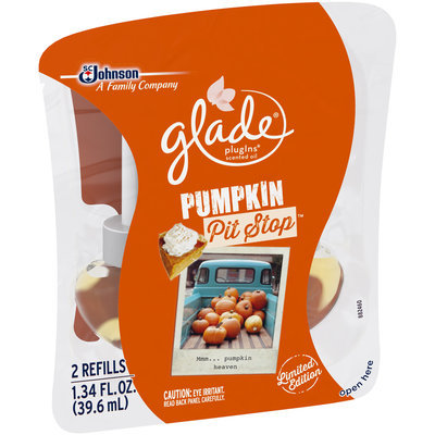 Glade® PlugIns® Pumpkin Pit Stop™ Scented Oil Air Freshener Refills 2 ct Pack