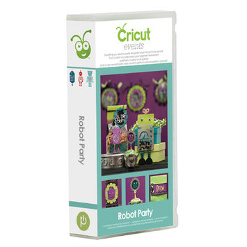 Provo Craft & Novelty Inc. Cricut Events Robot Party Cartridge