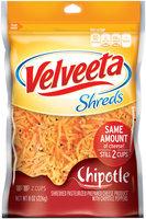 Kraft Chipotle Flavor Velveeta Shreds 8 oz. Bag
