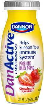DanActive Strawberry/Blueberry Family Value Pack 3.1 Fl Oz DanActive Probiotic Dairy Drink 8 Ct Bottles