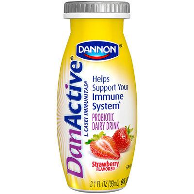 DanActive Strawberry/Blueberry Family Value Pack 3.1 Fl Oz DanActive Probiotic Dairy Drink 8 Ct Bottles