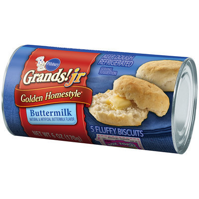 Pillsbury Grands!® Jr Golden Homestyle® Buttermilk Biscuits