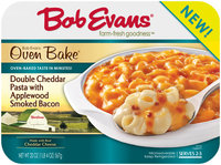 Bob Evans® Oven Bake® Double Cheddar Pasta with Applewood Smoked Bacon 20 oz. Tray