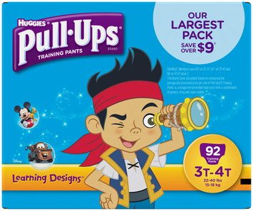 Huggies® Pull-Ups® Learning Designs® 3T-4T Boys Training Pants 92 ct Box