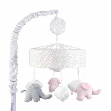 Just Born Sleep Well Barely Pink Elephant Musical Mobile