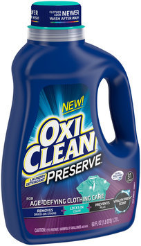 OxiClean™ Preserve™ Vitality Fresh Scent Laundry Detergent 60 fl. oz. Jug