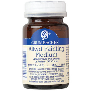 Grumbacher Alkyd Painting Medium 2 1/2 oz. jar