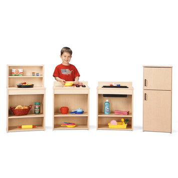 Young Time 7080YT441 Play Kitchen Set - 4 pcs