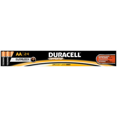 Duracell CopperTop  AA Alkaline Batteries 24 Count