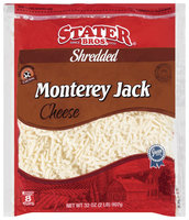 Stater Bros. Monterey Jack Shredded Cheese 32 Oz Bag