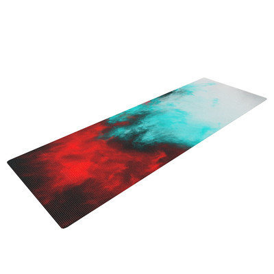 Kess Inhouse Painted Clouds III by Caleb Troy Yoga Mat