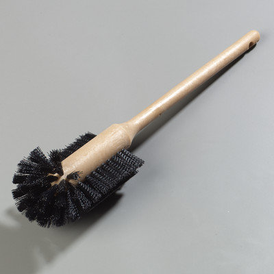 Carlisle Bathroom Cleaning Supplies 3.5 in. Polyester Bowl Scrub Brush (Case of 12) 4014000