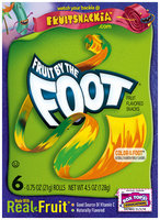 Betty Crocker® Fruit by the Foot® Color by the Foot® Fruit Flavored Snacks 6-0.75 oz. Rolls
