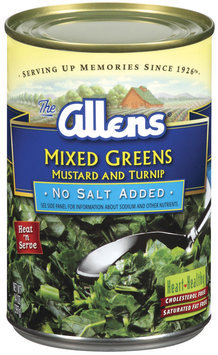 The Allens Mustard & Turnip No Salt Added Mixed Greens