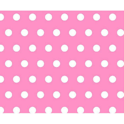 Stwd Polka Dots Crib/Toddler Fitted Sheet Color: Pink