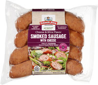 Farmer John® Cheese & Wine Flavor Smoked Sausage 12 oz. Pack