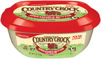 Shedd's Spread Country Crock® Original Spreadable Butter with Canola Oil 8 oz. Tub