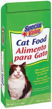 Special Value  Cat Food 10 Lb Bag