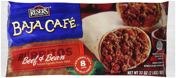 Reser's Fine Foods® Baja Cafe® Beef & Bean Burritos 32 oz. Bag