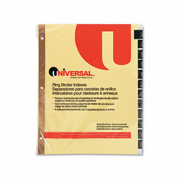 Universal Office Products Index Tabs and Dividers Universal Printable