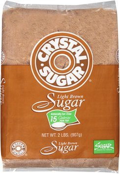 Crystal Sugar® Light Brown Sugar 2 lb. Bag