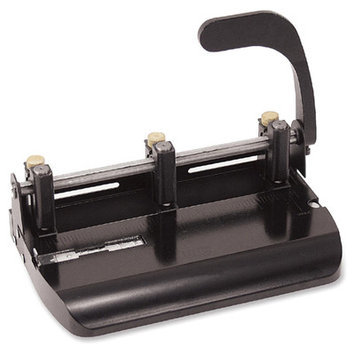Officemate OIC90078 Heavy-Duty Adjustable 2-3-Hole Punch