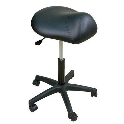 Oakworks Premium Saddle Stool with Multi-Density Padding - Color: Ocean