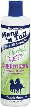 Mane 'n Tail Herbal Gro Olive Oil Complex Conditioner 12 Fl Oz Plastic Bottle