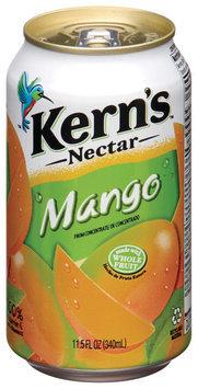 Kern's Mango Nectar 11.5 Fl Oz Can
